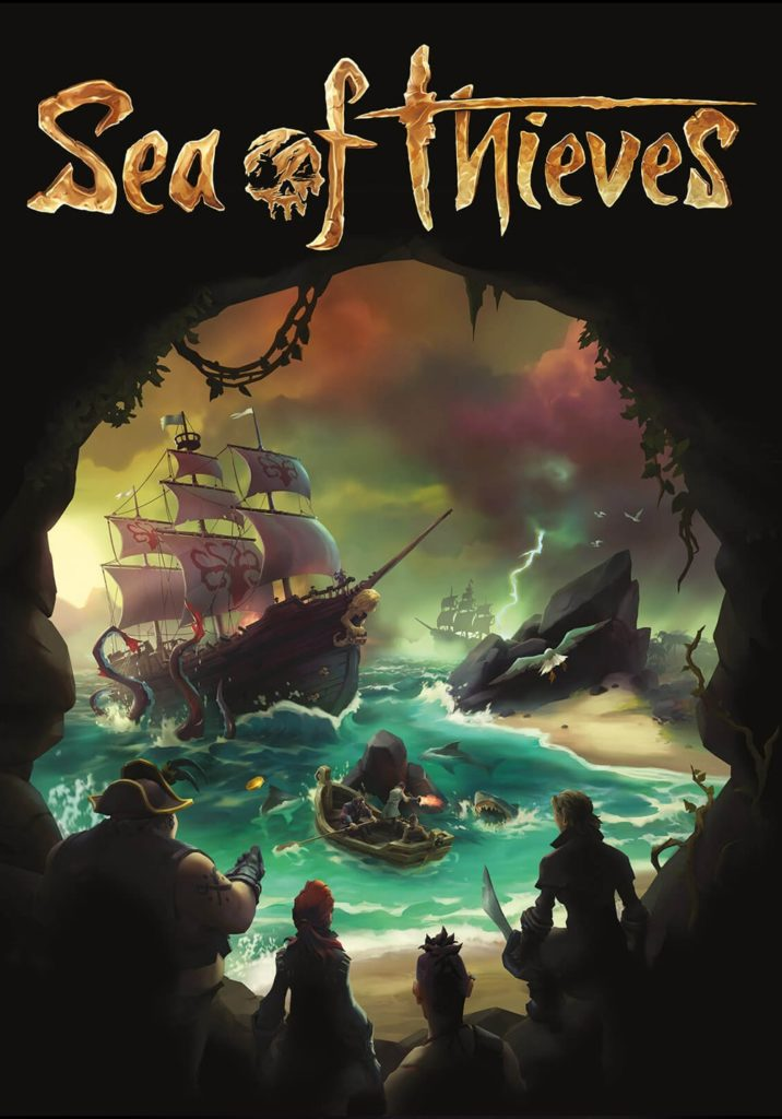 sea of thieves pc xbox one cover